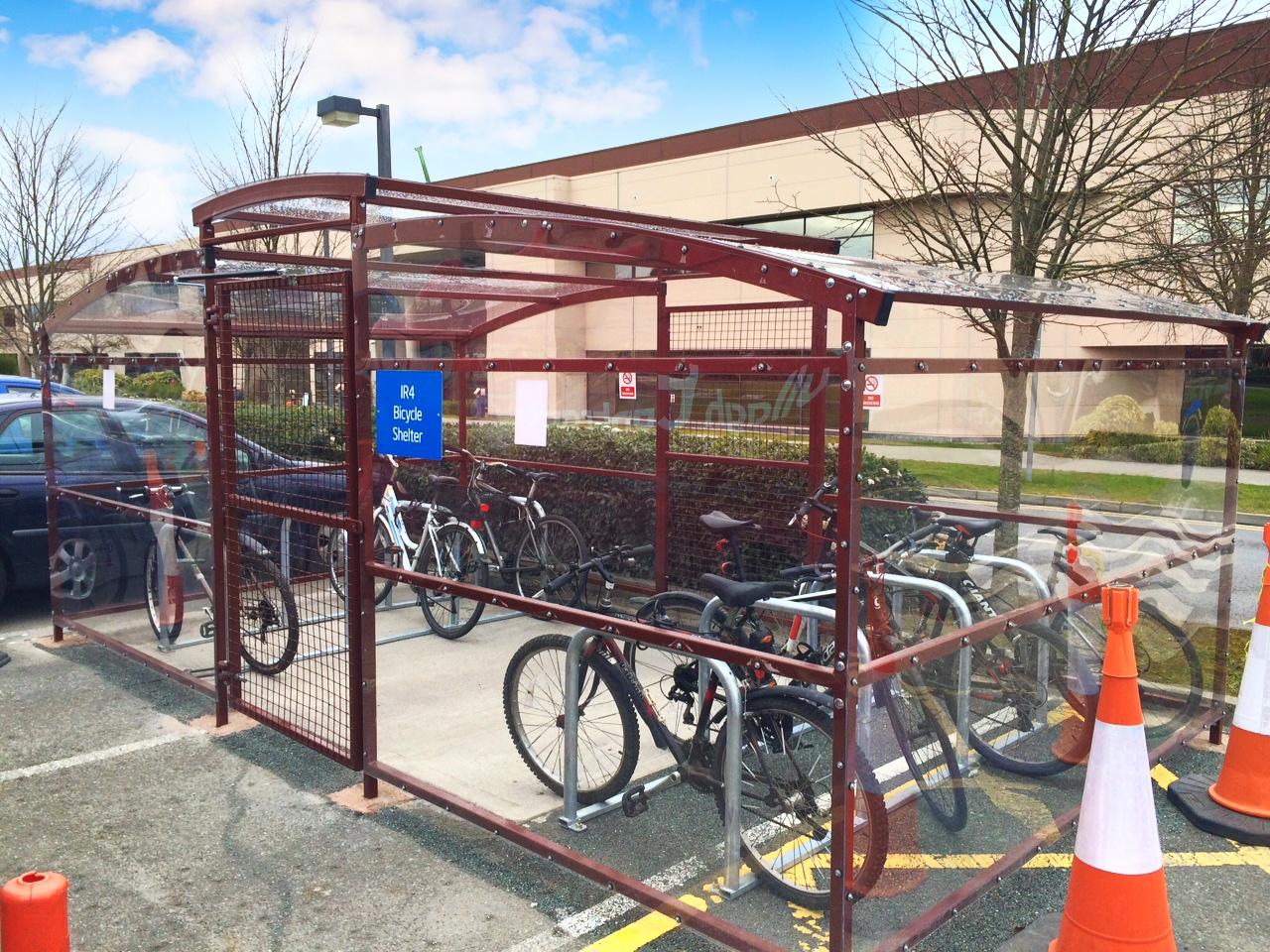 Ashford Bike Enclosure