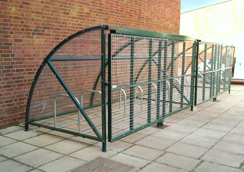 Parkmore Bike Enclosure with Bike Stands